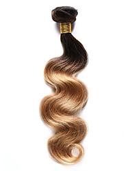 1 шт. Естественные кудри Ткет человеческих волос Индийские волосы 85-100g 10-18Inch Расширения человеческих волос