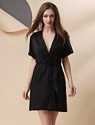 Girl & Nice® Femme Soie Robes de Chambre-P6322