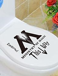 personalidade criativa 1pc mobiliário de casa os de higiene adesivos