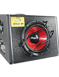 audio de voiture zhandi / corne de bataille voiture z-868 avec amplificateur de puissance échelle 8 pouces basse active gun