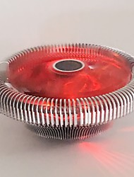 fraîche naruto étoiles D1010 cpu fan radiateur rouge multi-plateforme
