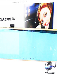 4.3-Inch High-Definition 1080P Dual-Lens Front And Rear Mirrors 170-Degree Blue Mirror Traffic Recorder