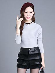 Women's Solid Black Shorts PantsStreet chic