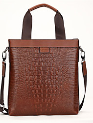 Fine Men Genuine Leather Shoulder Messenger Bag