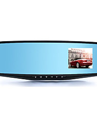 The Rearview Mirror Hidden Gifts 2.4 Inch HD Car Insurance Blue Screen Driving Recorder