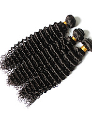 Brazilian Virgin Hair 3pcs Kinky Curly Virgin Hair Brazillian Human Hair Weave Bundles Curly Deep Wave