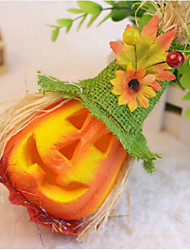 Halloween épouvantail citrouille bulle activité décorée scène props enfants clignotent couleur de jouets aléatoire