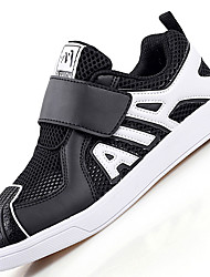 Men's Sneakers Comfort Synthetic Athletic / Casual Flat Heel Magic Tape Black / White Others