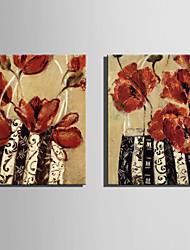 Натюрморт / ботанический Холст для печати 2 шторы Готовы повесить,Вертикальная