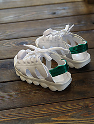 Boy's Sandals Fall Sandals PU Casual Flat Heel Others Green / Red Others