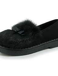 Women's Loafers & Slip-Ons Spring / Fall / Winter Comfort / Round Toe / Flats Outdoor / Dress / Casual Flat Heel Slip-on