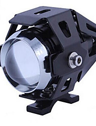 Motorcycle LED Headlight Strobe Lights Super Bright Spotlights Modified External U5 Laser Cannon Transformers
