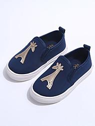 Синий / Красный / Белый-Для мальчиков-Для прогулок-Полотно-На плоской подошве-Обувь через палец-На плокой подошве