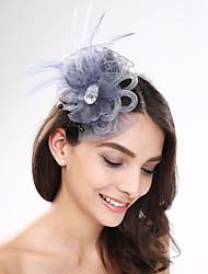 Damen Feder Acryl Netz Kopfschmuck-Hochzeit Besondere Anlässe Freizeit Kopfschmuck 1 Stück