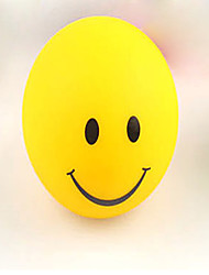 couleurs changeantes sourire visage nuit de lumière clignotante lampe conduit