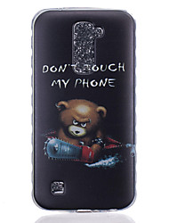 Pour Coque LG Motif Coque Coque Arrière Coque Dessin Animé Flexible PUT pour LG LG K10 LG K8 LG K7 LG K4 LG G5 LG G4 LG G3