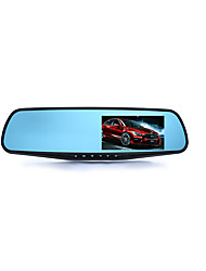 Rear View Mirror Drive Recorder / Double Lens Reversing Image / Auto Insurance Gift