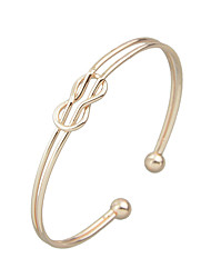 Rosegold Silver Plated Metal Plain Cuff Bangles Christmas Gifts