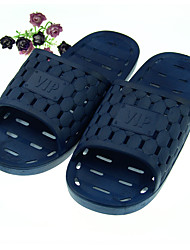 Men's Slippers & Flip-Flops Summer Slingback Rubber Casual Flat Heel Others Blue Others