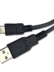 Knife® jaune USB 2.0-Mini USB 1.0m (3ft)