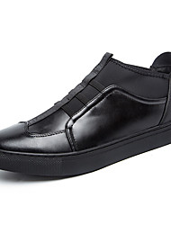 Men's Loafers & Slip-Ons Spring / Summer / Fall / Winter Wedges / Riding Boots / Round Toe Cowhide