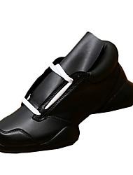 Da uomo-Sneakers-Casual-Comoda Club Shoes Light Up Shoes-Piatto-Tessuto-Nero Nero e bianco