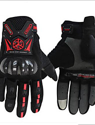 Motorcycle Riding Gloves Anti Throw Locomotive Carbon Fiber Protective Shell Locomotive Gloves