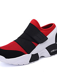 Unisex Sneakers Spring / Fall Comfort Outdoor / Athletic / Casual Lace-up Black / Red / White Tennis / Walking /