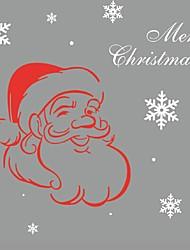 Merry Christmas Gift Xmas Tree Santa Claus Pvc Removable Display Window Showcase Decor Kid Room Nursery Wall Stickers