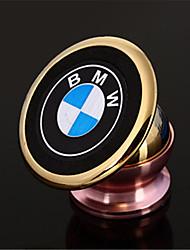 сильного магнитного металла держатель мобильного телефона, чтобы повернуть на 360 градусов по отношению к сильным магнитным логотипом