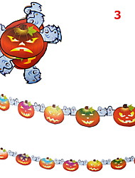 Halloween Supplies Festival Supply  Decorations  Ghost Skull Garland Length 3m