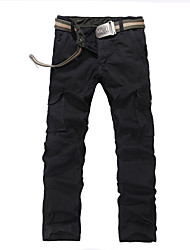 Autumn big yards leisure more than young men bag trousers loose straight outdoor sports pants BDC-8328