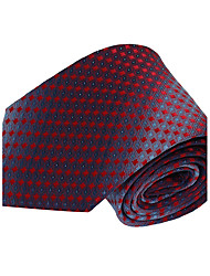 Men Leisure Jacquard Necktie Polyester Silk Tie