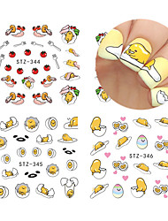 10 designs ,10 different images Nail Sticker Art Autocollants de transfert de l'eau Maquillage cosmétique Nail Art Design