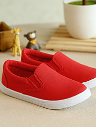 Unisex Flats Summer Flats Canvas Casual Flat Heel Others Black / Red / White Others