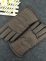 Cycling Cotton Gloves Winter And Thick Thickening Of The Winter Cycling Ski Warm Proof Cotton Gloves