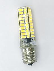 1 pcs e17 4w 80smd 5730 400-450lm luzes bi-pin brancas quentes e quentes ac / 220-240v / 110-120v