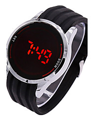 Silicone Led Touch Screen Watch Digital Men Women Waterproof Watch Male Clock Mens Wristwatch Relogio masculino