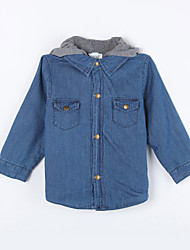 Boy's Casual/Daily Solid JeansCotton Fall Blue