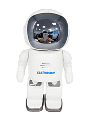szsinocam 720p robot de wifi caméras de surveillance wi-fi / 802.11 / b / g support ONVIF 2.4 plug and play