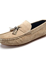Men's Loafers & Slip-Ons/Suede Shoes/Comfort/Breathability/Casual Dress/Flat Heel Slip-on/Suitable