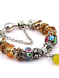Bracelet Chaînes & Bracelets / Charmes pour Bracelets / Bracelets Rigides / Bracelets de rive Acier inoxydable / CéramiqueForme de Cercle