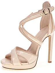 Women's Sandals Summer Heels / Platform / Sandals / Open Toe Patent Leather Wedding / Party & Evening / Casual Stiletto