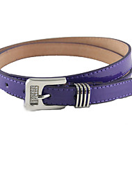 Women PU Waist BeltWork / Casual Alloy All Seasons
