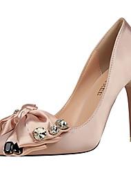 Women's Heels Heels / Pointed Toe / Closed Toe  Casual Stiletto Heel Bowknot / Sparkling Glitter
