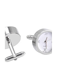 SAVOYSHIMen's Cufflinks Watch Work Multi-functional French Cufflinks for Wedding and Gift Jewelry
