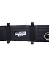 el hd espejo retrovisor / de la visión nocturna de la lente de visión posterior dual grabadora