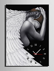 E-HOME® Angel Clock in Canvas 1pcs