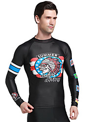 Spring Autumn Long Sleeve Rashguards Surfing Shirt Swimwear Men Diving Snorkeling Swim Tops Wetsuit Beachwear