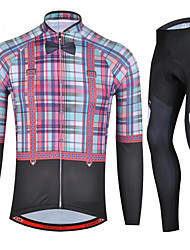 Sports Cycling Jersey with Tights Unisex Long Sleeve BikeBreathable / Quick Dry / Anatomic Design / Ultraviolet Resistant / Wearable /
